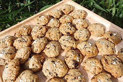 Cookies aux olives noires