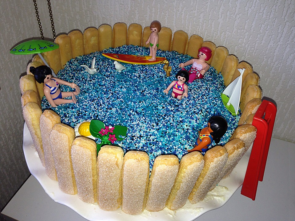 swimmingpool torte rezept mit bild von moosmutzel311. Black Bedroom Furniture Sets. Home Design Ideas