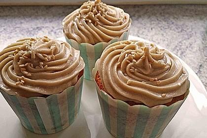Vegane Sesam - Cupcakes 1