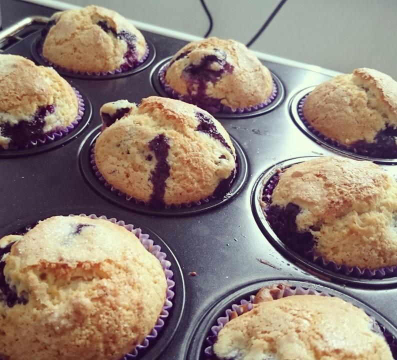 blaubeer muffins von schokomaus01 chefkoch de