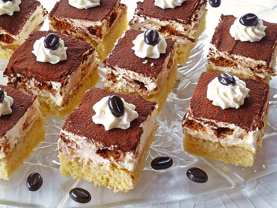 tiramisu kuchen vom blech rezept mit bild von holunderbluete67. Black Bedroom Furniture Sets. Home Design Ideas