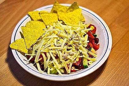 Tex-Mex Schichtsalat 1