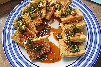 Koreanischer Chili-Tofu