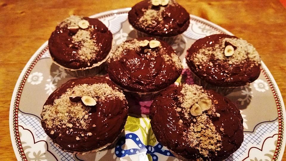 vegane muffins mit kirschen und haseln ssen rezept mit bild. Black Bedroom Furniture Sets. Home Design Ideas