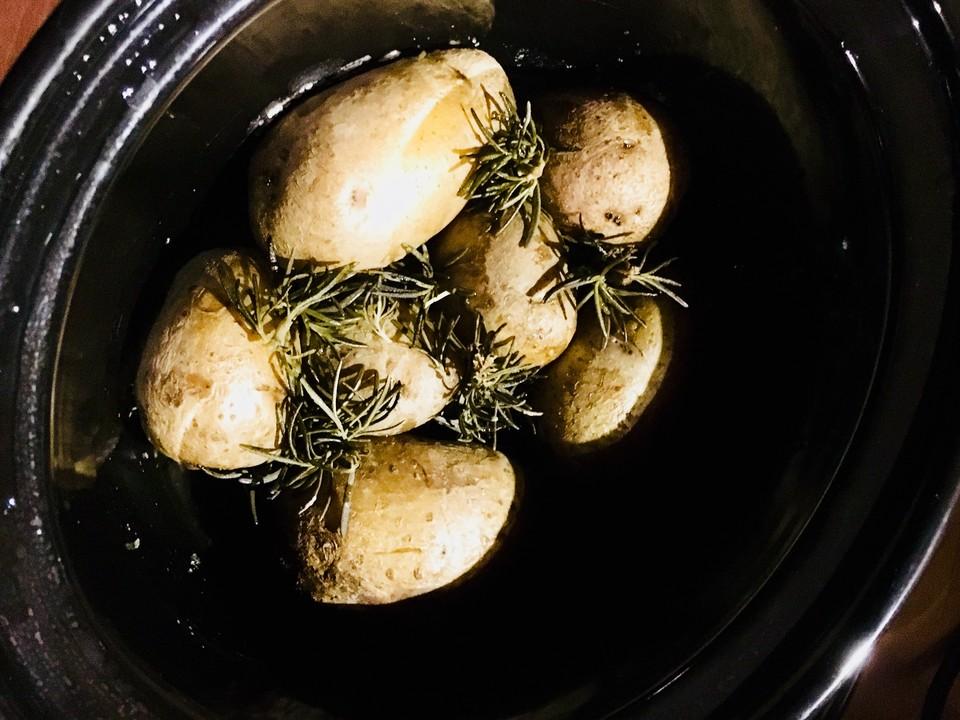Rosmarinkartoffeln aus dem Slowcooker/Crockpot von zickentoni ...