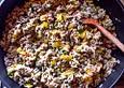 Gemüse-Reis-Pfanne mit Hack