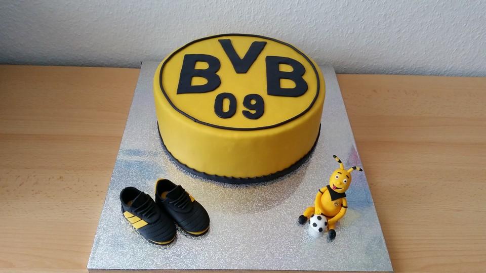 Fantastisch BVB Torte