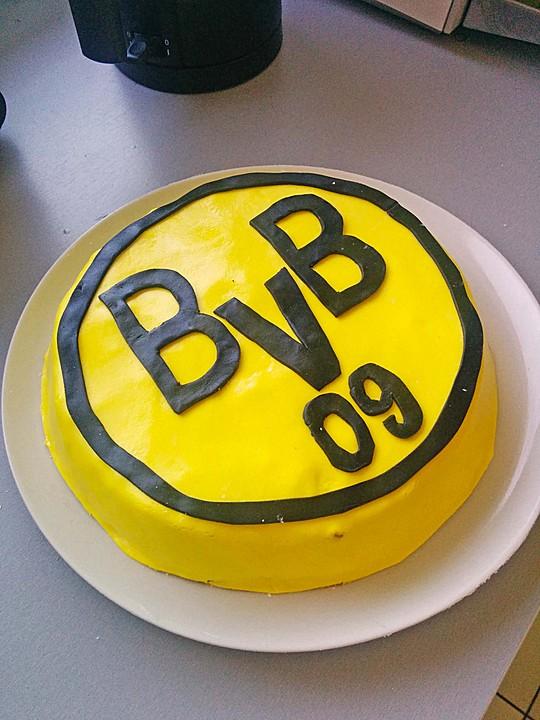 Bvb torte von cinderella 91 for Kuchen dortmund