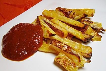 Steckrüben Pommes frites 4
