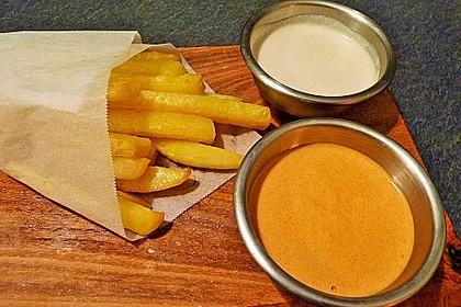 Steckrüben Pommes frites