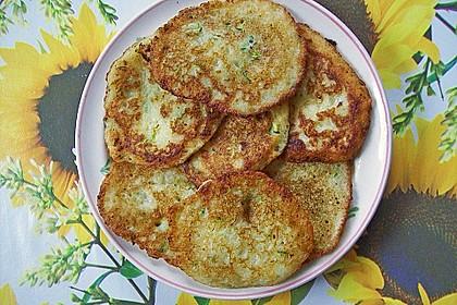 Zucchini-Kartoffelpuffer (Reibekuchen) 3