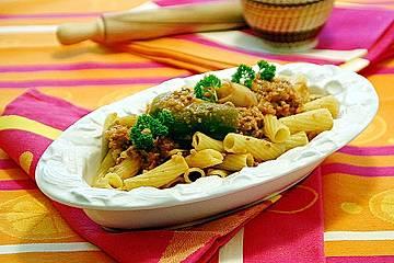 Tortiglioni mit Gemüse