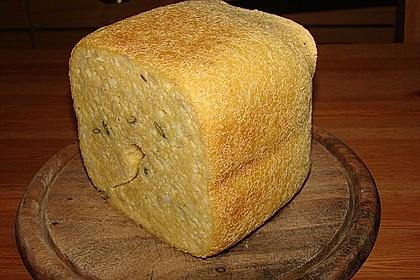 Glutenfreies und veganes Brot für den Brotbackautomaten