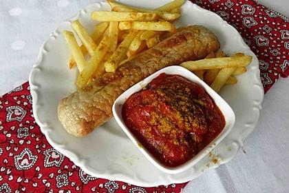 Scharfe Berliner Currywurst