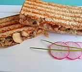 Champignon-Sandwich