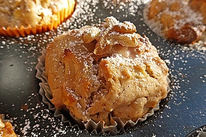 Bratapfel-Walnuss-Muffins 2