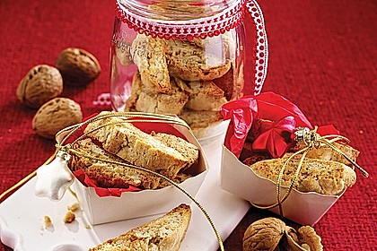 Walnuss-Vanille-Cantuccini