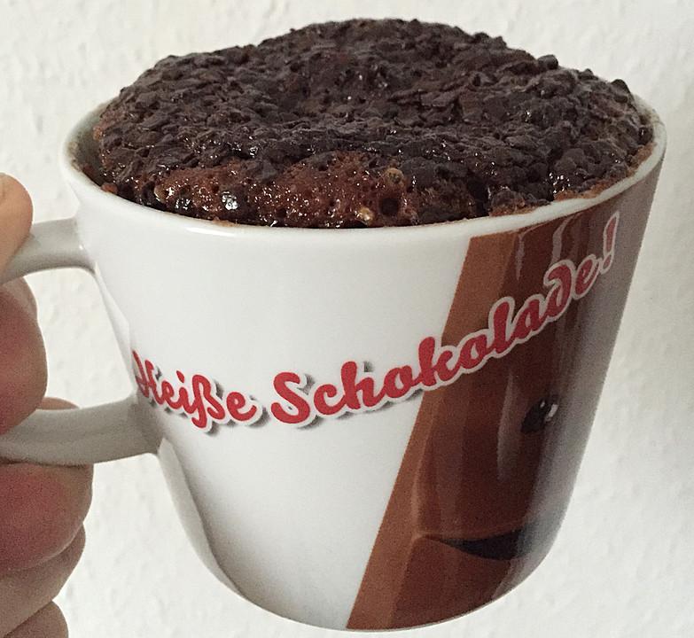 schneller schokoladen nutella tassenkuchen von sarahjaninaxx. Black Bedroom Furniture Sets. Home Design Ideas