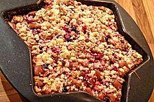 Beeren-Streusel Brownies