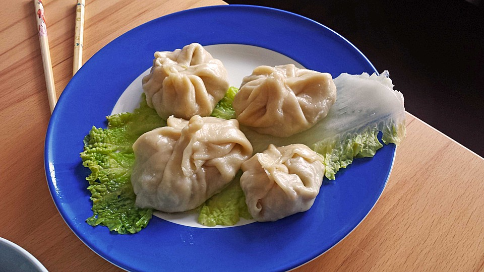 dumplings aus dem dampfgarer rezept mit bild von tami08. Black Bedroom Furniture Sets. Home Design Ideas