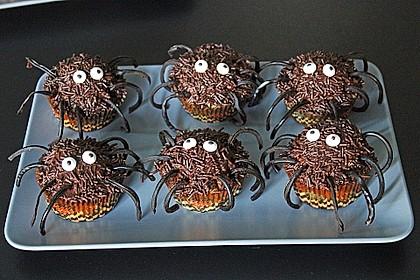 Spinnen-Muffins 1