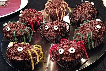 Spinnen-Muffins 4