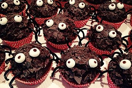 Spinnen-Muffins 7