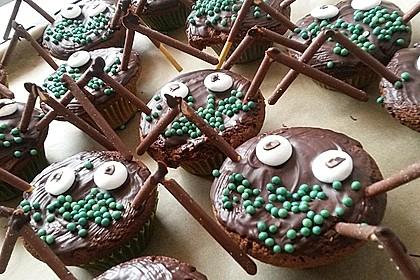 Spinnen-Muffins 3