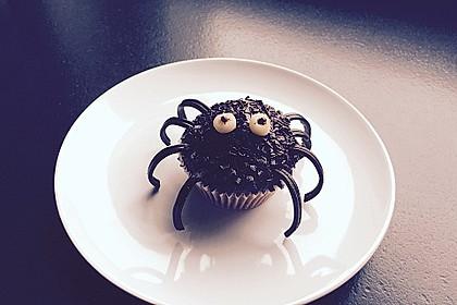 Spinnen-Muffins 6