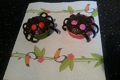 Spinnen-Muffins 8