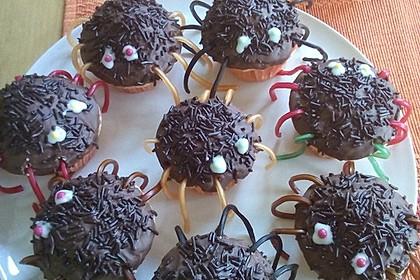 Spinnen-Muffins 9