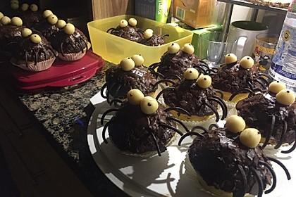 Spinnen-Muffins 5
