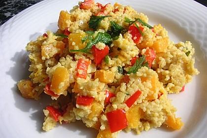 Kürbis-Paprika-Couscous 2
