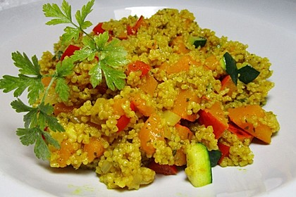 Kürbis-Paprika-Couscous 3