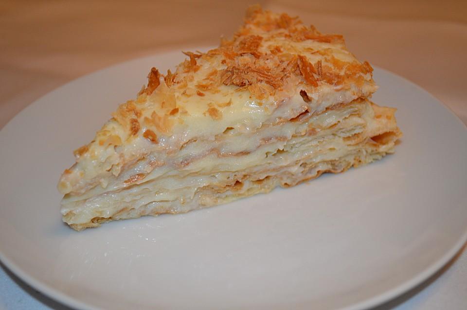 Torte napoleon blatterteig