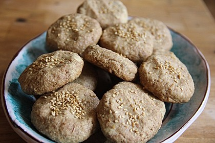 Tahini-Mandel-Kekse aus Israel 6