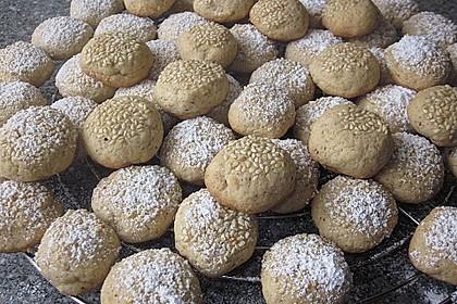 Tahini-Mandel-Kekse aus Israel