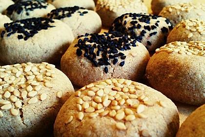 Tahini-Mandel-Kekse aus Israel 1