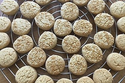Tahini-Mandel-Kekse aus Israel 4