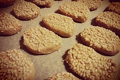 Tahini-Mandel-Kekse aus Israel 9