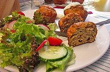 Tzatziki-Muffins mit Salat