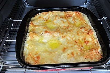 Spinat-Lachs-Lasagne à la Bernd