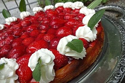 Erdbeer-Käsekuchen-Schnitten 8