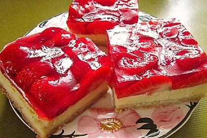 Erdbeer-Käsekuchen-Schnitten 14
