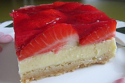 Erdbeer-Käsekuchen-Schnitten 19