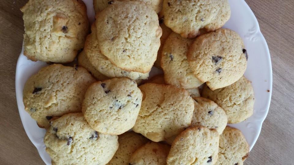 american cookies double chocolate chip cookies rezept mit bild. Black Bedroom Furniture Sets. Home Design Ideas