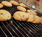 American Cookies - Double-Chocolate Chip Cookies (Bild)