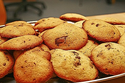 American Cookies - Double-Chocolate Chip Cookies 9