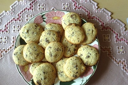 Double-Chocolate Chip Cookies 1