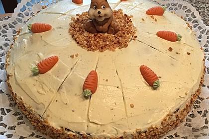 Karottenkuchen, Rüblikuchen oder Möhrenkuchen 229